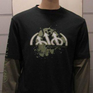 Tee-shirt BERETTA vert foncé et kaki