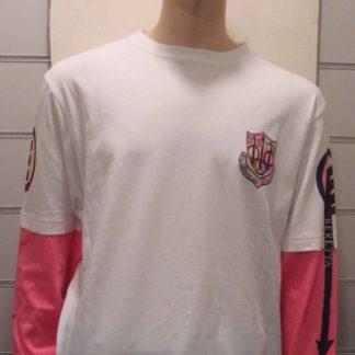 Tee-shirt BERETTA blanc et rose