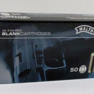 Munitions Pistolet 9mm Blanc