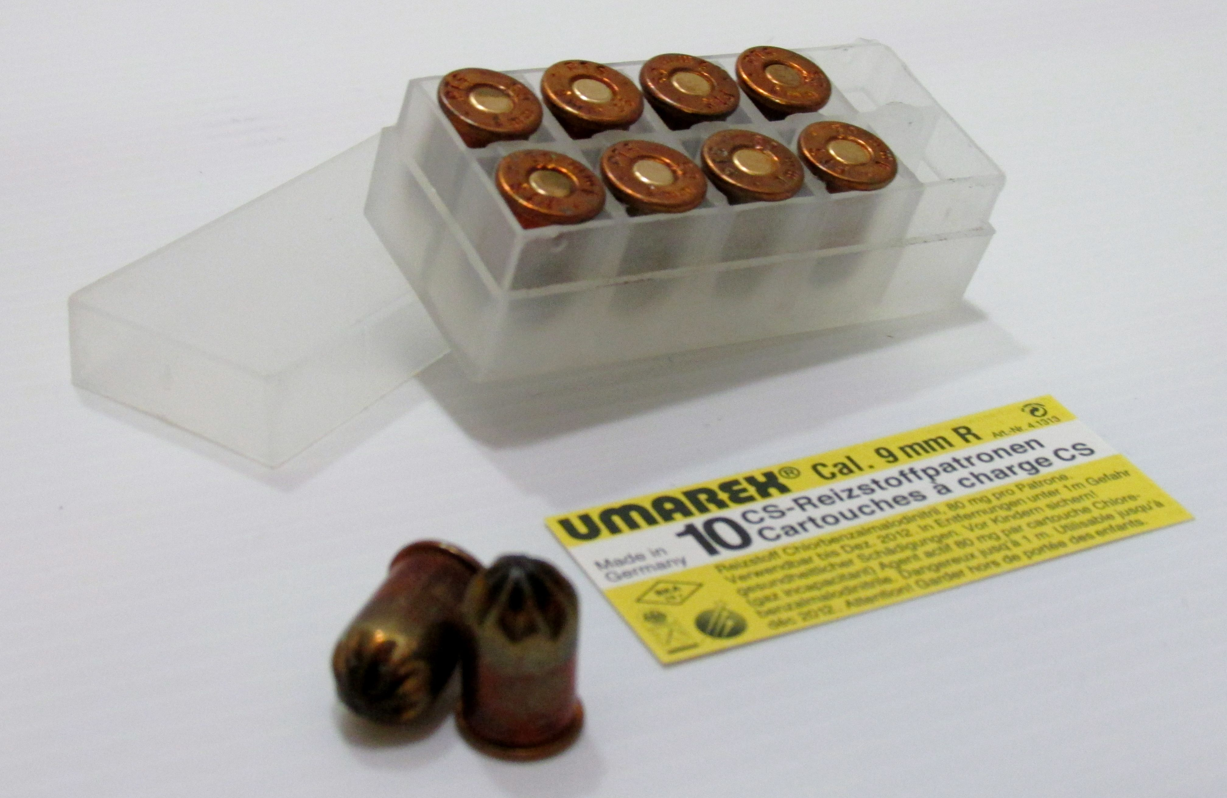 Munitions Revolver 9mm Gaz