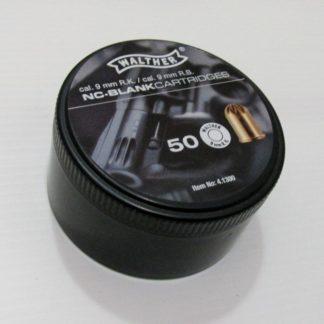 Munitions Revolver 9mm Blanc