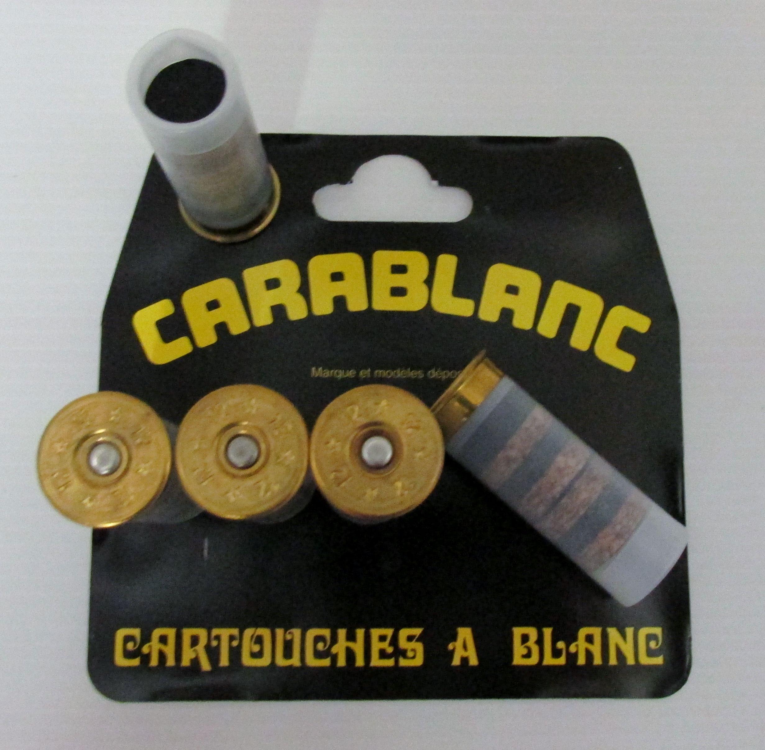 Munitions Fusil 12 Blanc