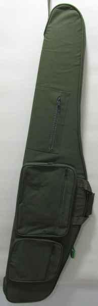 Fourreau arme avec lunette vert 127cm