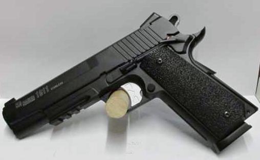 Pistolet SIG SAUER 1911 CO2