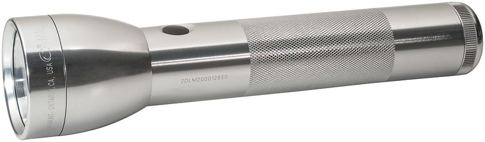 Lampe torche Mag-lite ML300 argent 2D LED