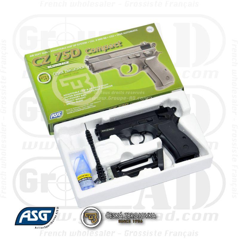 Pistolet ASG CZ75D CO2
