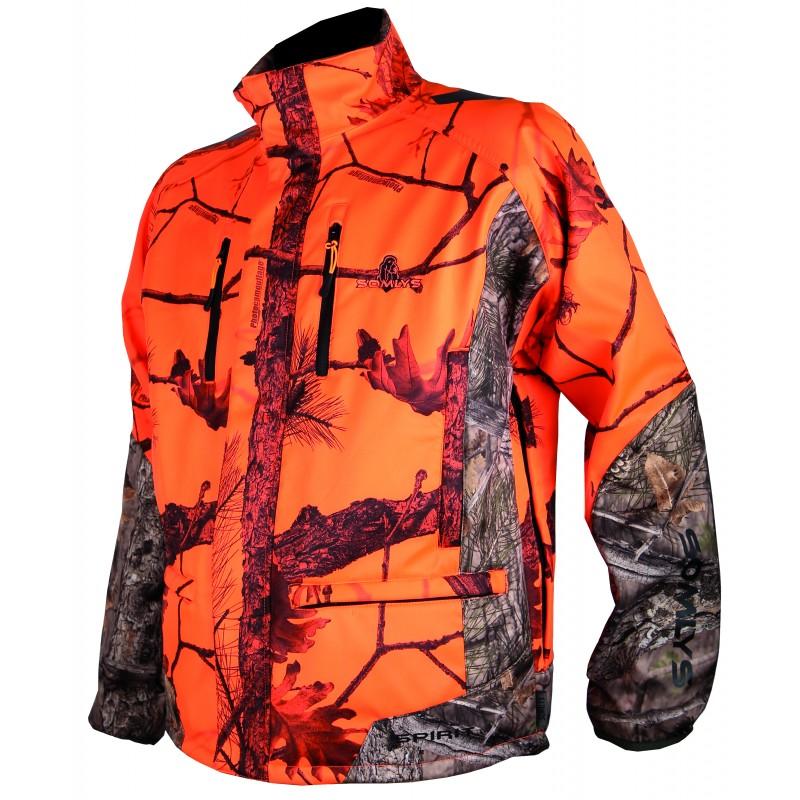 Veste 441N Softshell camo orange
