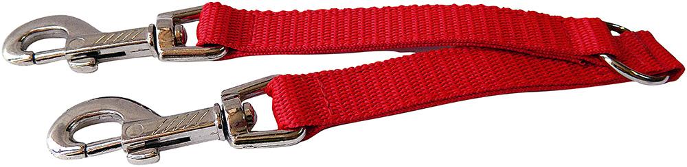Coupleur nylon rouge 20cm