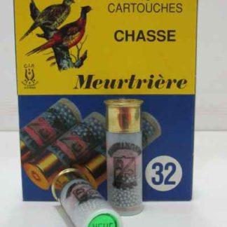 Cartouches 12/67 BG n°9 32g