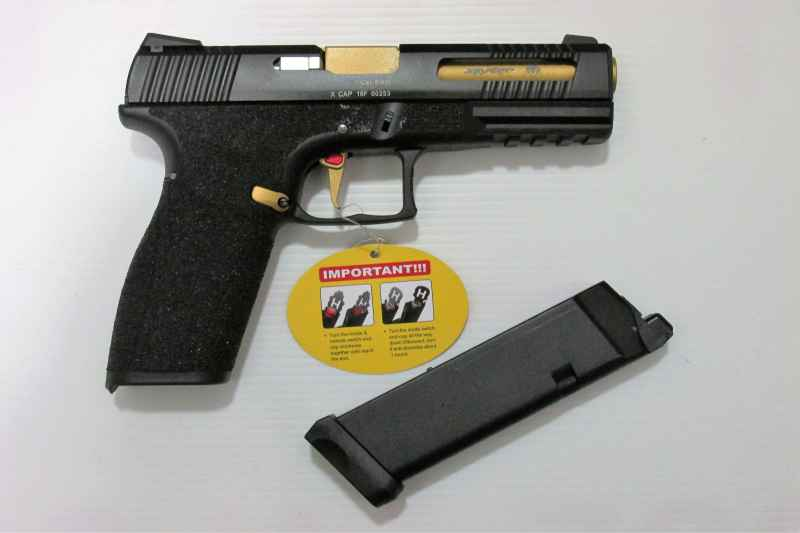 Pistolet APS X1-Cap CO2