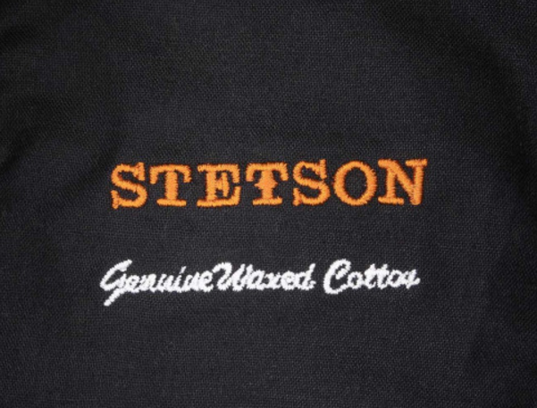 Bob STETSON Atkins Waxed Cotton marron