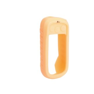 Coque silicone alpha phosphorescente orange