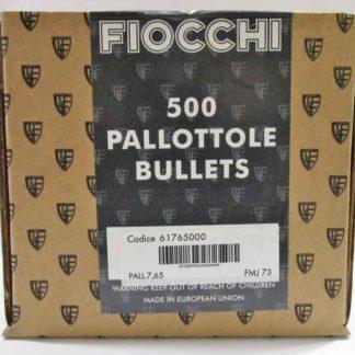FIOCCHI ogives 7.65 FMJ