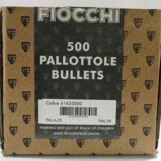FIOCCHI ogives 6.35 FMJ 50