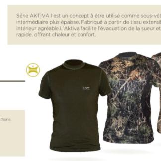 Tee-shirt Aktiva-S Vert