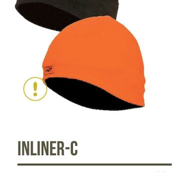Bonnet Inliner-C orange
