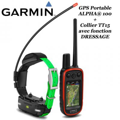 Pack GPS ALPHA 100 & TT15F MINI - GARMIN