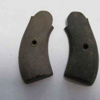 plaquette bois revolver