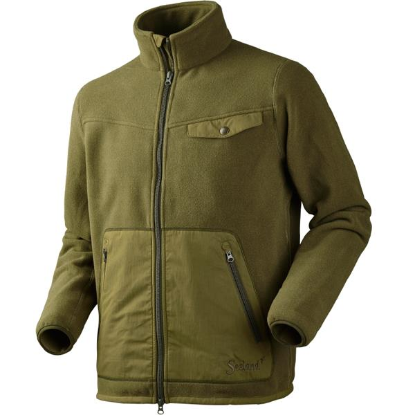 SEELAND SCOUT FLEECE green