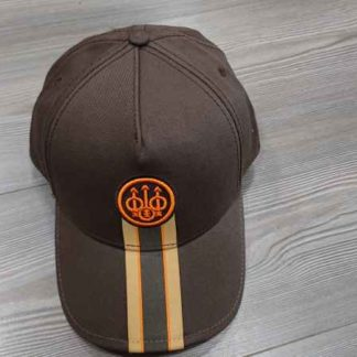 CASQUETTE BERETTA CORPORATE STRIPED MARRON