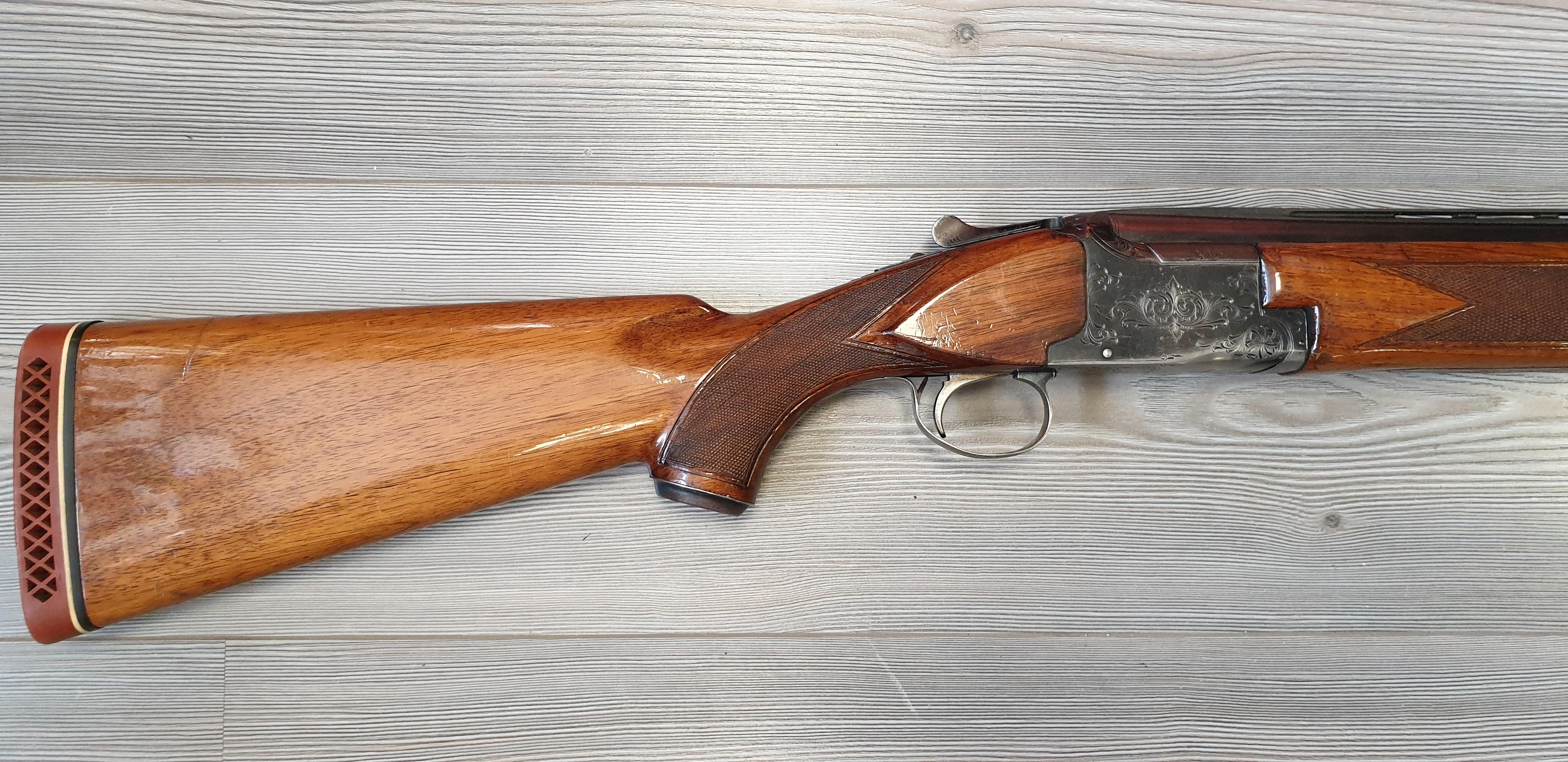 1:6 Résine Winchester 101 sur /& Sous Fusil